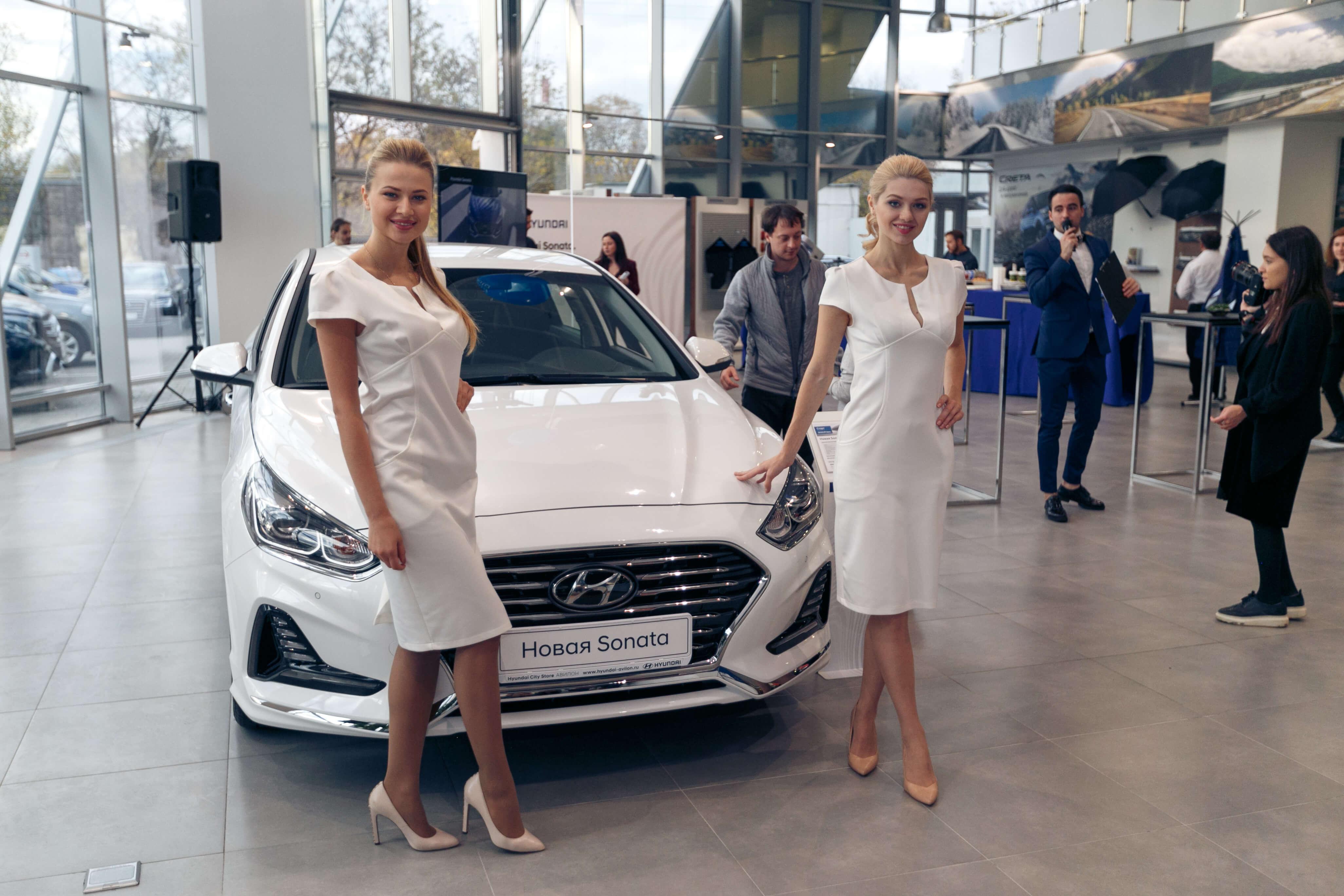 «АВИЛОН», официальный дилер Hyundai продемонстрировал  новое звучание Hyundai Sonata.